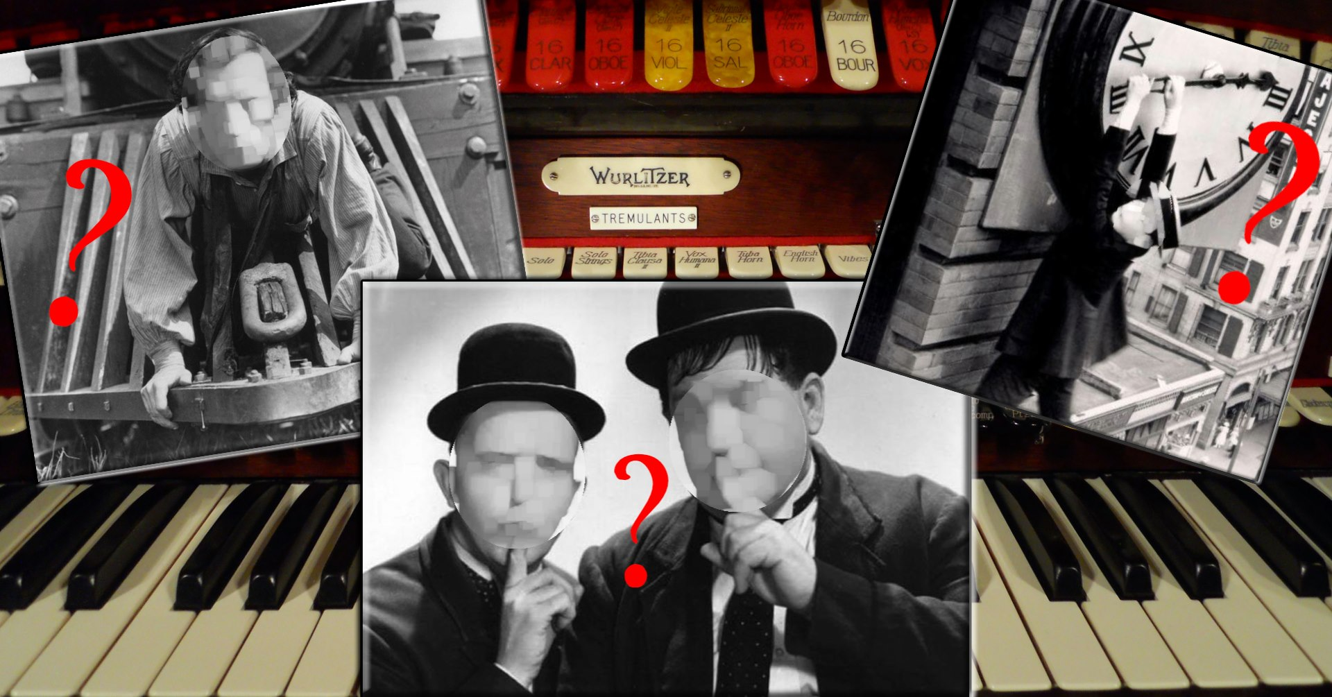 """""""Kings of Comedy"""" 3 Silent Films"""