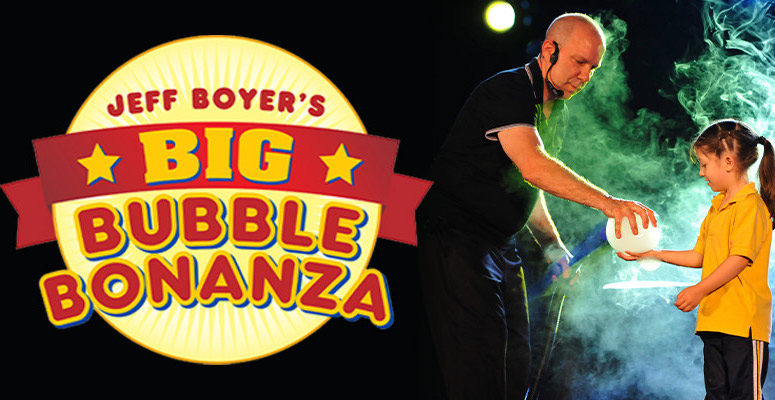 SOLD OUT - Jeff Boyer's Big Bubble Bonanza