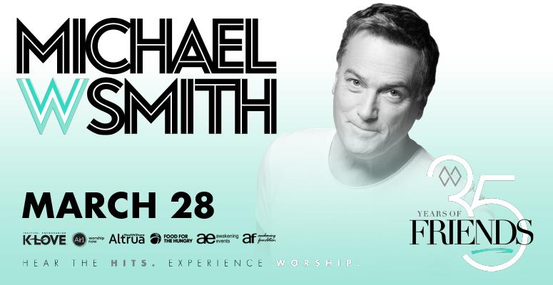Michael W Smith - Postponed