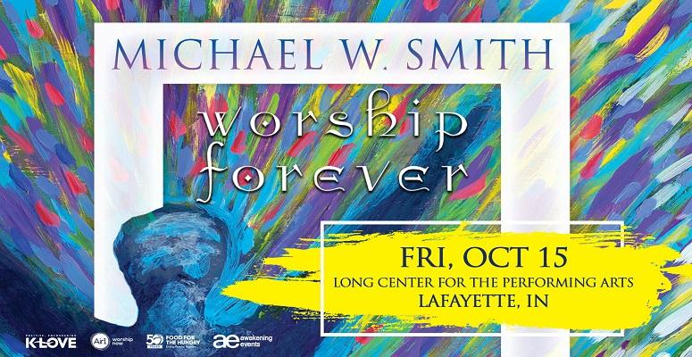 Michael W Smith - NEW DATE